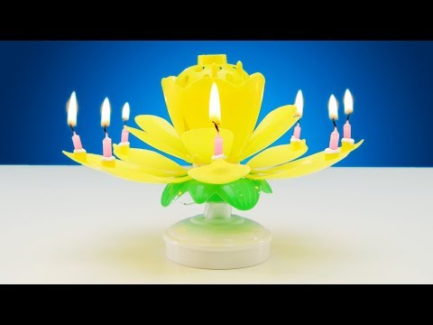 Musical Lotus Flower Candle | LOOTd Unboxing