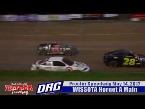 Proctor Speedway 5/14/17 WISSOTA Hornets