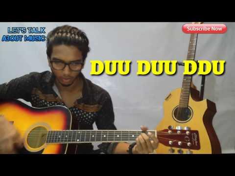 Nakhun By (Sajjad Ali). Guitar Lessoon Tutorial For Beginners In Hindi
