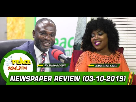 newspaper-review-on-peace-104.3-fm-(3/10/2019)