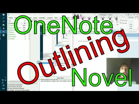 Write a novel in OneNote - outlining and logic structure. Let's Work!