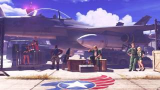Street Fighter V - Guile Stage Theme - Air Force Base