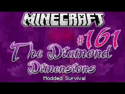 """ORGANISATION SKILLS?"" | Diamond Dimensions Modded Survival #161 | Minecraft"