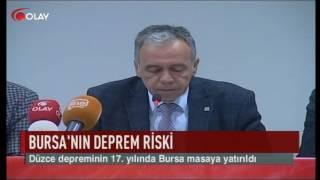 Bursa'nın deprem riski (Haber 11 11 2016)