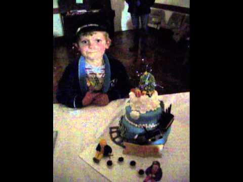 Matthews Polar Express Cake