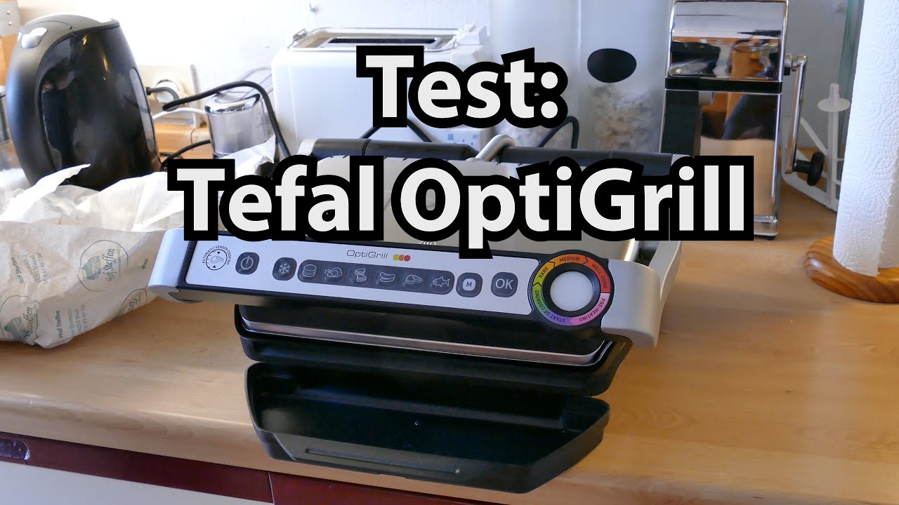test optigrill von tefal grill review deutsch modell gc702d von caulius probiert es aus youtube. Black Bedroom Furniture Sets. Home Design Ideas