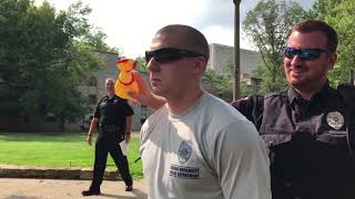 Police Academy uses 'chicken test' for students