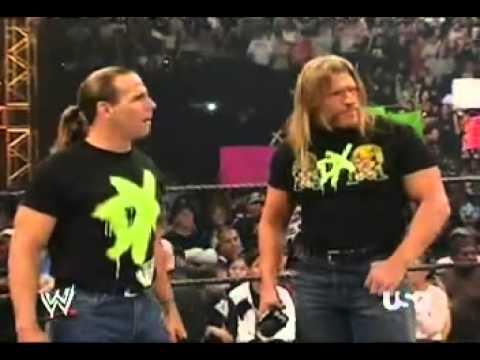 Raw 2006 Team Rated RKO Make Fun Of DX - YouTube
