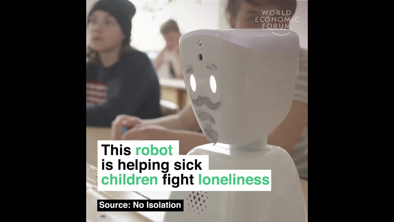 This robot is helping sick children fight loneliness