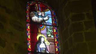 Sent from the Auvers-sur-Oise church