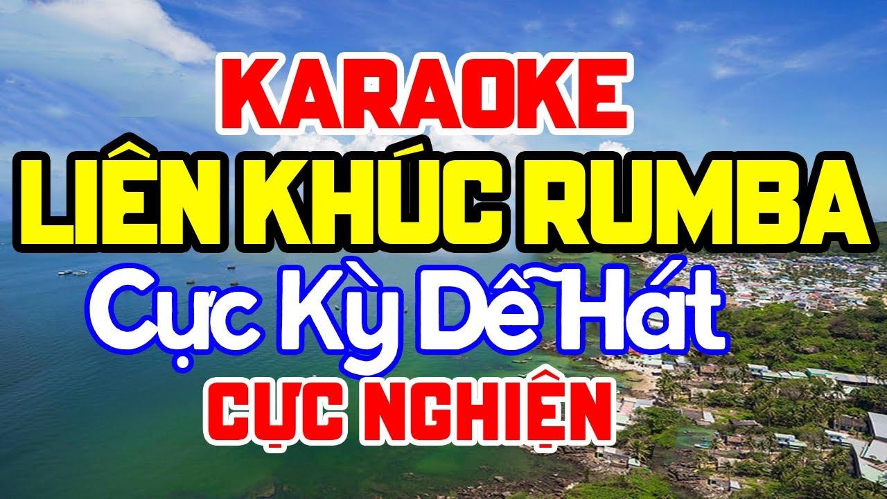 KARAOKE Liên Khúc Karaoke Nhạc Sến - Bolero - Trữ Tình Cực Kỳ Dễ Hát Nhất - Nhạc Sống Karaoke