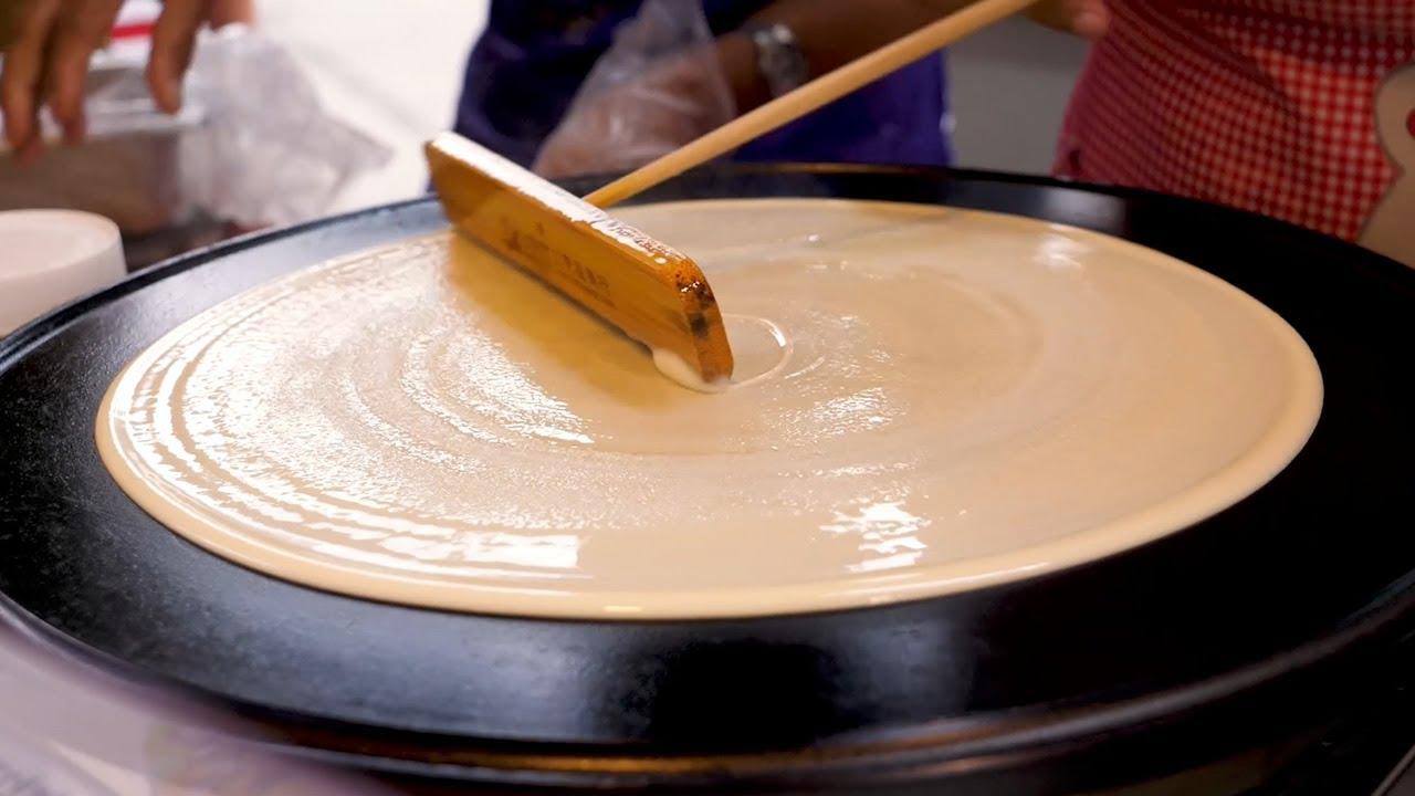 Top 10 Crepes Popular Videos - Korean Street Food