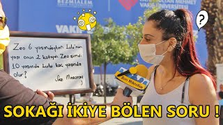 SOKAĞI İKİYE BÖLEN SORU ! - SARI MİKROFON