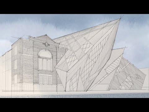 Royal Ontario Museum Digital Marker Drawing pt. 1: Pencil Framework