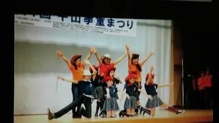 ③Country Line Dance.2016年10月16日平山季重まつり