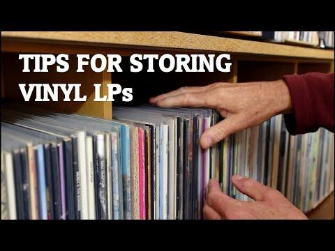 Tips For Storing Vinyl LPs