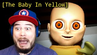 I AM BABYSITTING A DEMON BABY!! | The Baby in Yellow (ENDING!)