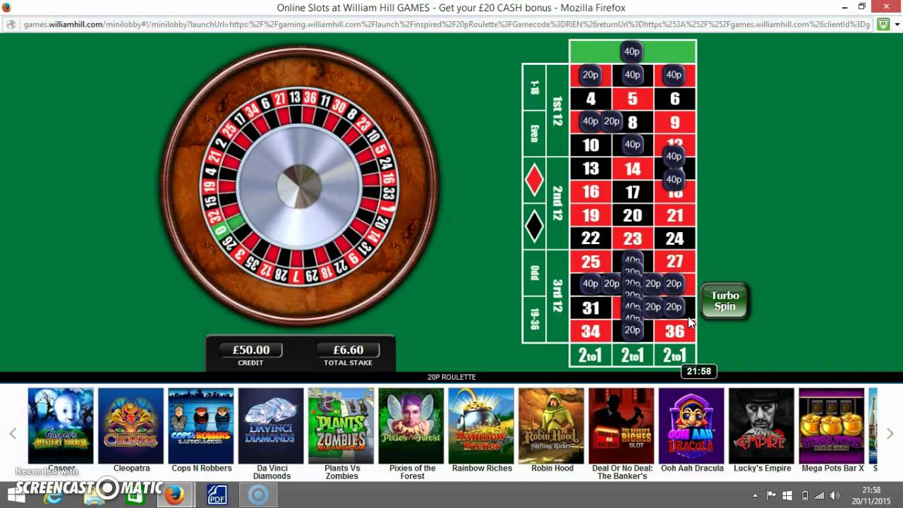 How to win 20p roulette royal club roulette