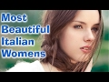 Top 10 Most beautiful Italian women 2017 | Top 10 Everything