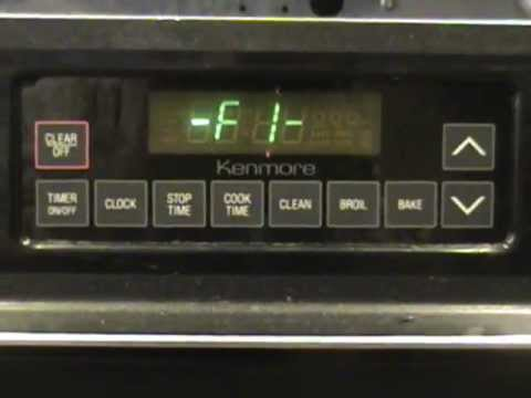 kenmore elite gas range model 790 manual