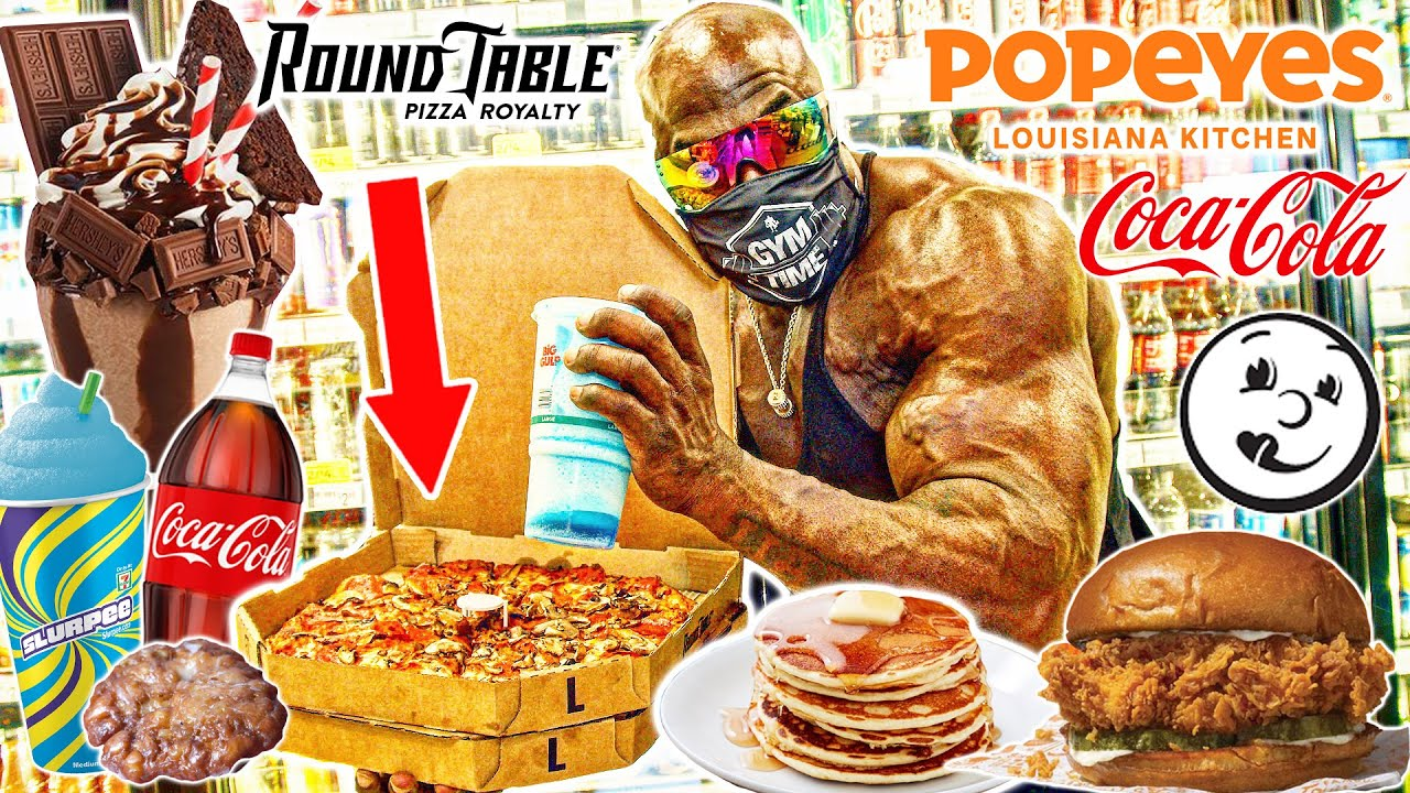 I ate 10,000 Calories of Food in a Day... | Kali Muscle