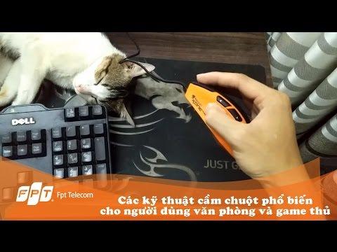 Các Kiểu Cầm Chuột Phổ Biến Hiện Nay Dành Cho Dân Văn Phòng Và Game Thủ