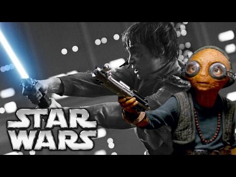 How Maz Kanata Got Luke