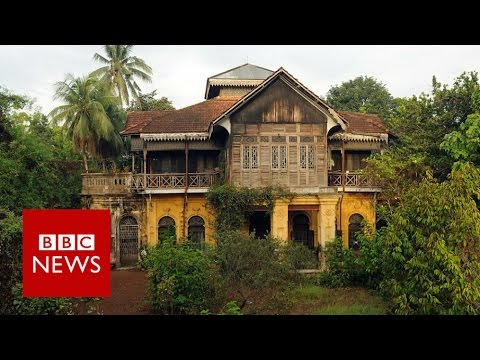 Yangon's disappearing heritage homes - BBC News