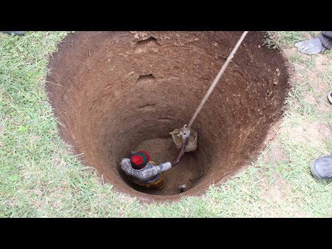Amazing Fastest Well Digging by Hand - Extremely Ingenious Construction Workers