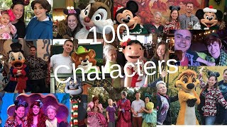 100 Disney Characters!! ONE HUNDRED of the BEST Characters you can meet at Disney!