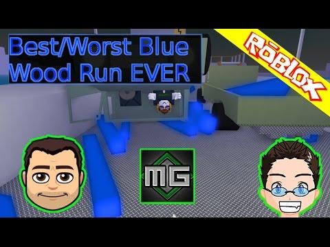 Roblox - Lumber Tycoon 2 - Best Worst Blue wood run w/ MrGreenGaming1 and DigDugPlays