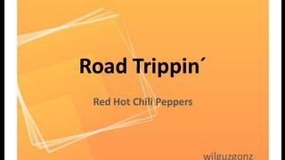 Road Trippin - Red Hot Chili Peppers Karaoke