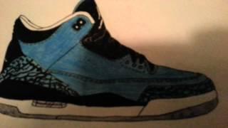 Jordan / Nike Sneaker Art - Foams/LeBrons/Jordans | Collection Video 1