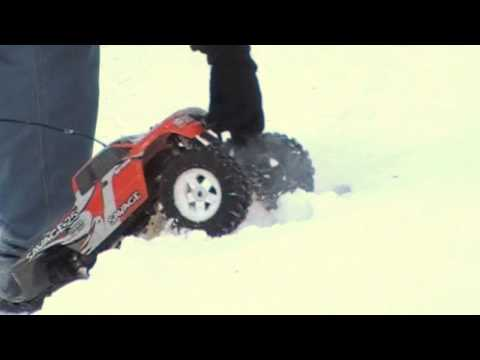 HPI SAVAGE 25 IN THE SNOW