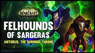 One of FatbossTV's most viewed videos: Felhounds of Sargeras - Antorus, the Burning Throne - 7.3 PTR - FATBOSS