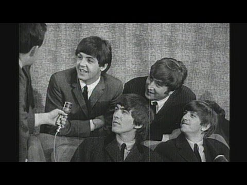 The Beatles - back in the UK after the Ed Sullivan Show