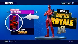I GET THE SKIN OF *DEADPOOL* IN FORTNITE ! (REAL) - ElChurches