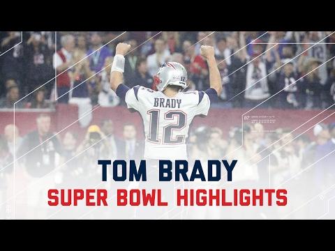 Tom Brady's Amazing Super Bowl LI Comeback | Patriots vs. Falcons | Super Bowl Player Highlights