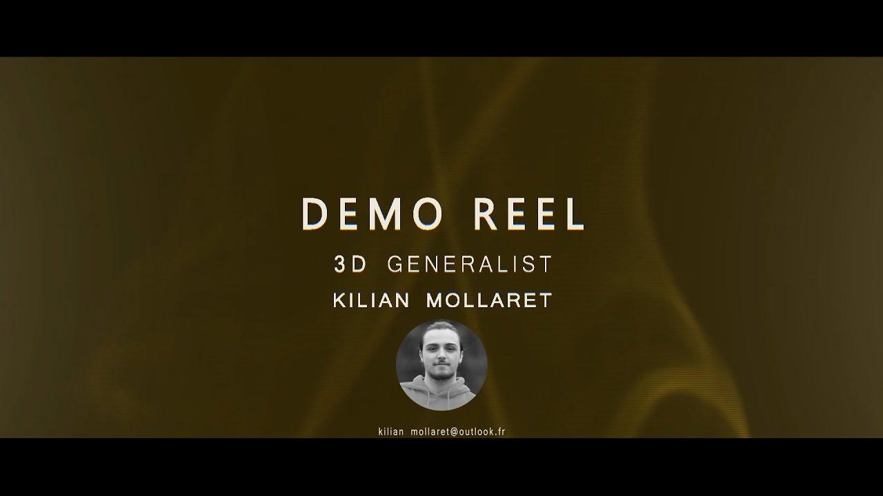 DemoReel Kilian Mollaret 2019