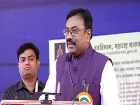 "FM Sudhir Mungantiwar speech in Pune on ""Tree Plantation Program"" Jul 03, 2017"