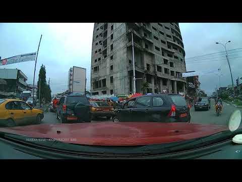 DOUALA, CAMEROON TOUGH DRIVING-PARKING
