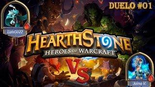 Una Batalla contra mi.. (literal) [Hearthstone Heroes of Warcraft|Duelo #01]