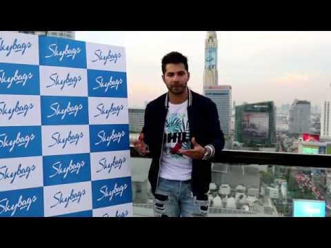 Skybags makes Varun Dhawan 'Move in Style'.