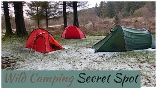 Camping In The Rain | Campfire Cooking | Camping In The Woods |Car Camping |Wild Camping Scotland