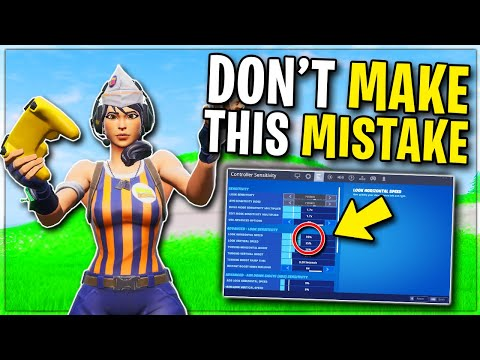 I Tried The NEW Controller Sensitivity.. Here's What You Need
