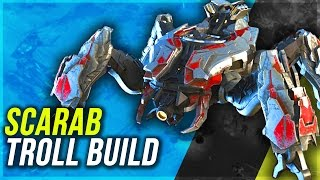 Halo Wars 2: SCARAB RUSH - Super Troll Build - Unlimited Power