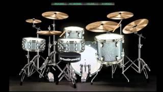 Kotak - Beraksi (Drum Cover) Virtual Drumming