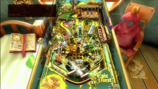 Classic Game Room - EPIC QUEST pinball table for Pinball FX 2 review
