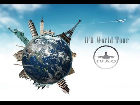 [X-PLANE 11] IVAO IFR World Tour 2017  VRMG ✈ VANP   /  Maldivas  ✈ Nagpur (Índia)