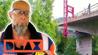 Gefährliche Sanierung: Die Biewerbachtalbrücke   Deutschland 24/7   DMAX Deutschland